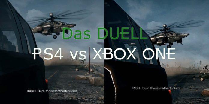 Grafikvergleich PS4 vs XBOX ONE