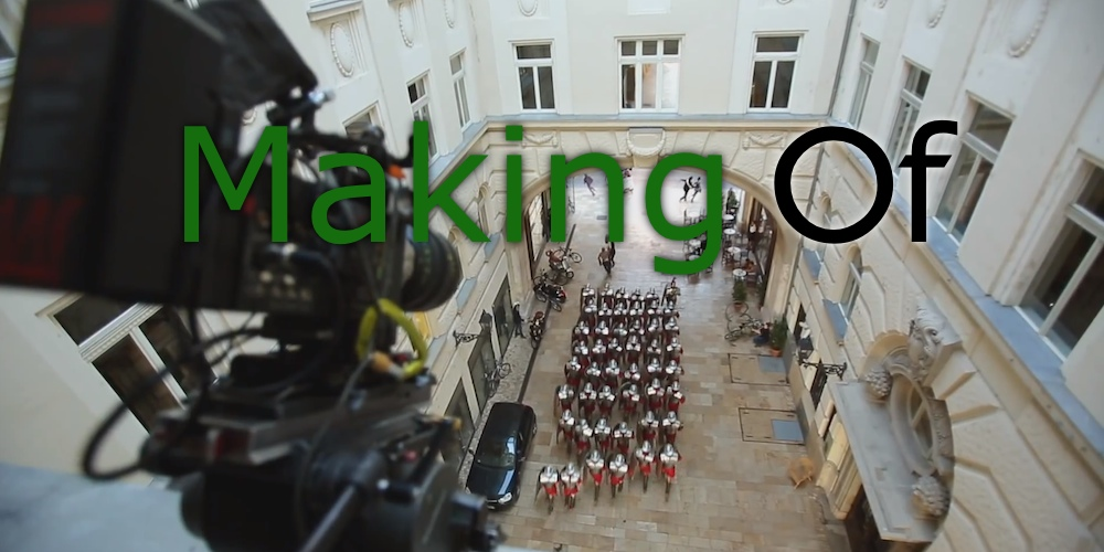 Making Of XBOX ONE Invitiation Spot