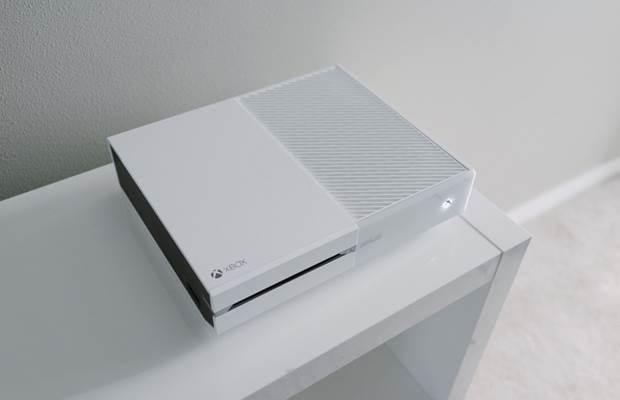 Weiße Xbox One