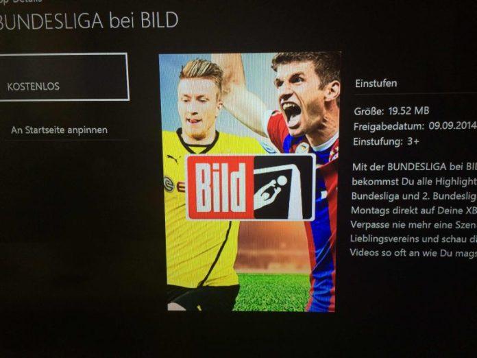 Bundesliga BILD App - Xbox One