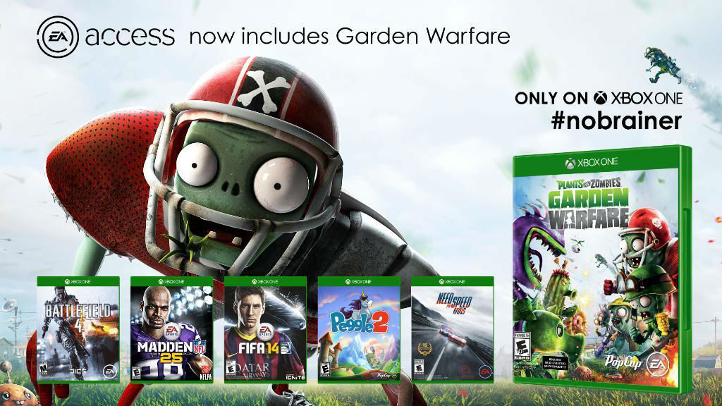 Plants vs. Zombies Garden Warfare - EA Access