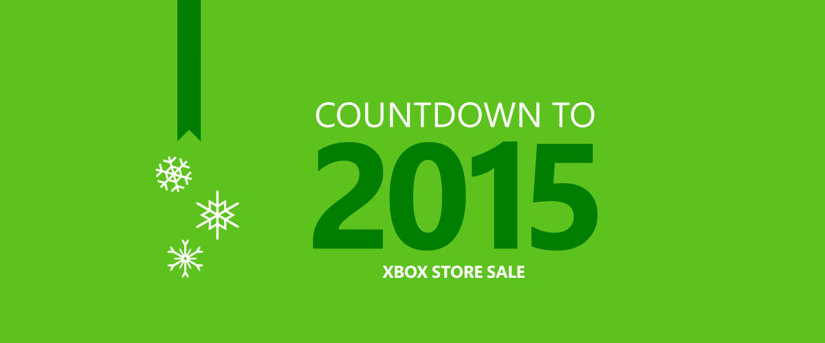 Xbox Store Sale - Countdown to 2015