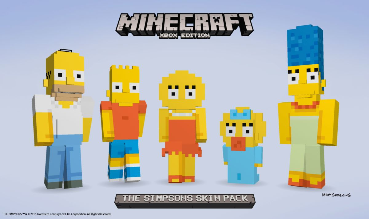 Minecraft Simpsons