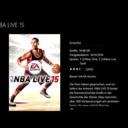 NBA Live 15 - EA Access