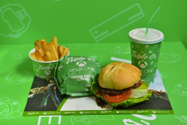 Xbox One Burger