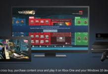 Cross-Buy Windows 10 Xbox One