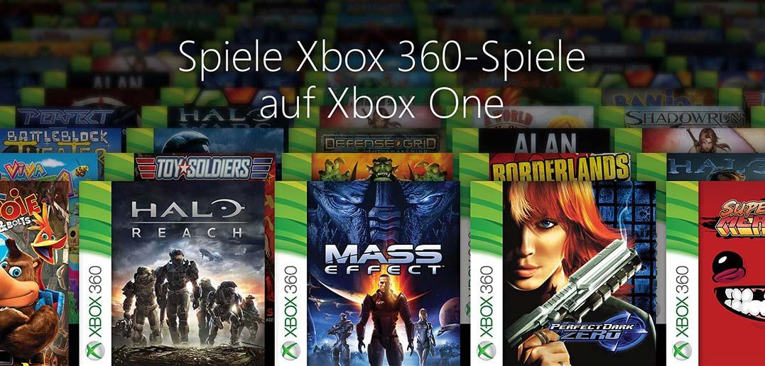 Xbox One: Abwärtskompatibilität