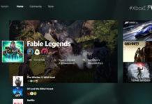 Xbox One Dashboard 2015