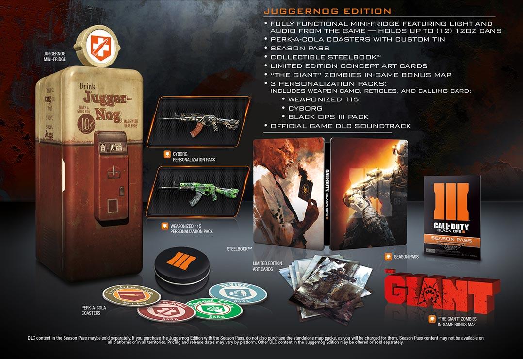 Call of Duty: Black Ops 3 Juggernog Edition