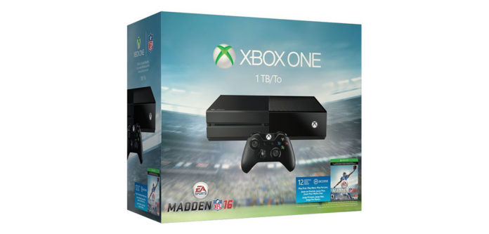 Xbox One: Bundle mit Madden NFL 16 + 1 Jahr EA Access