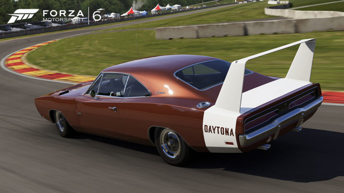 Forza Motorsport 6 Dodge Charger Daytona