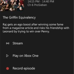 Xbox One - DVR - Live TV