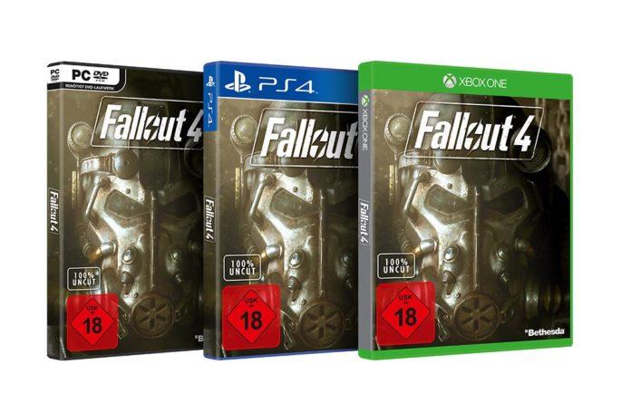 Fallout 4 Packshots