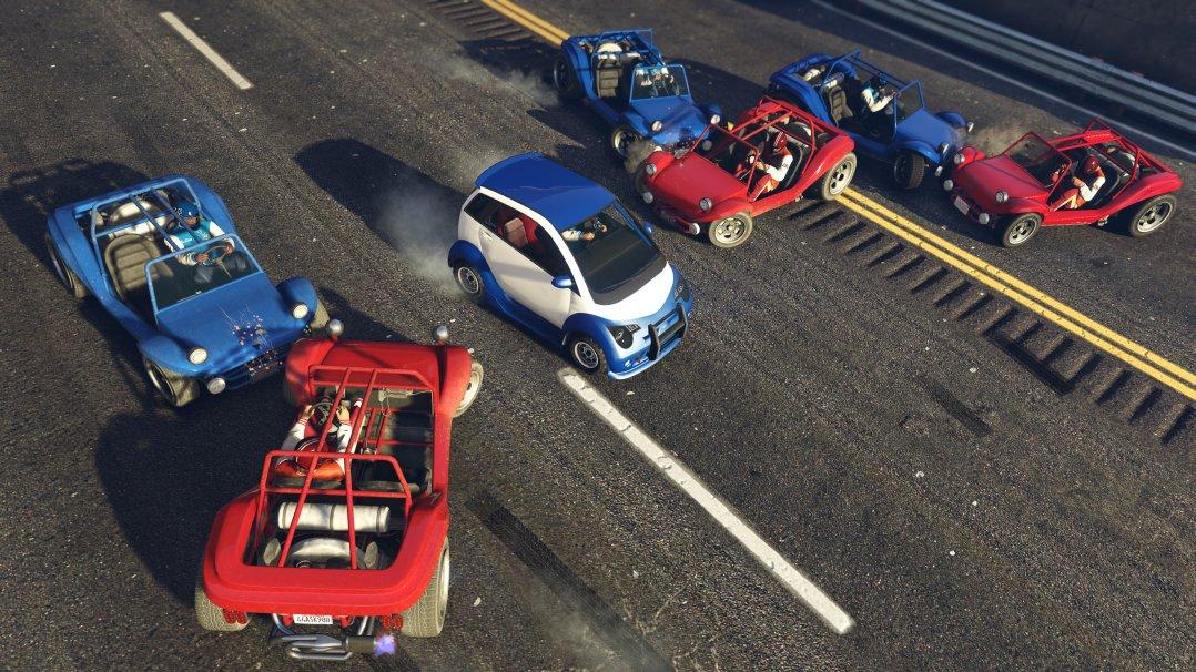 GTA Online - Running Back
