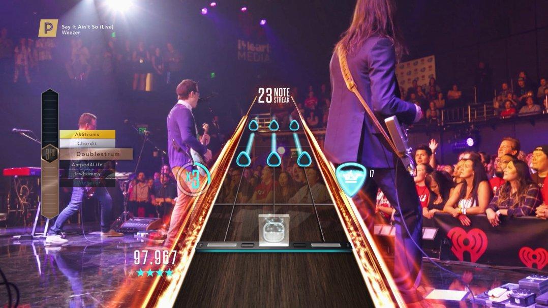 Guitar Hero Live: Weezer Set