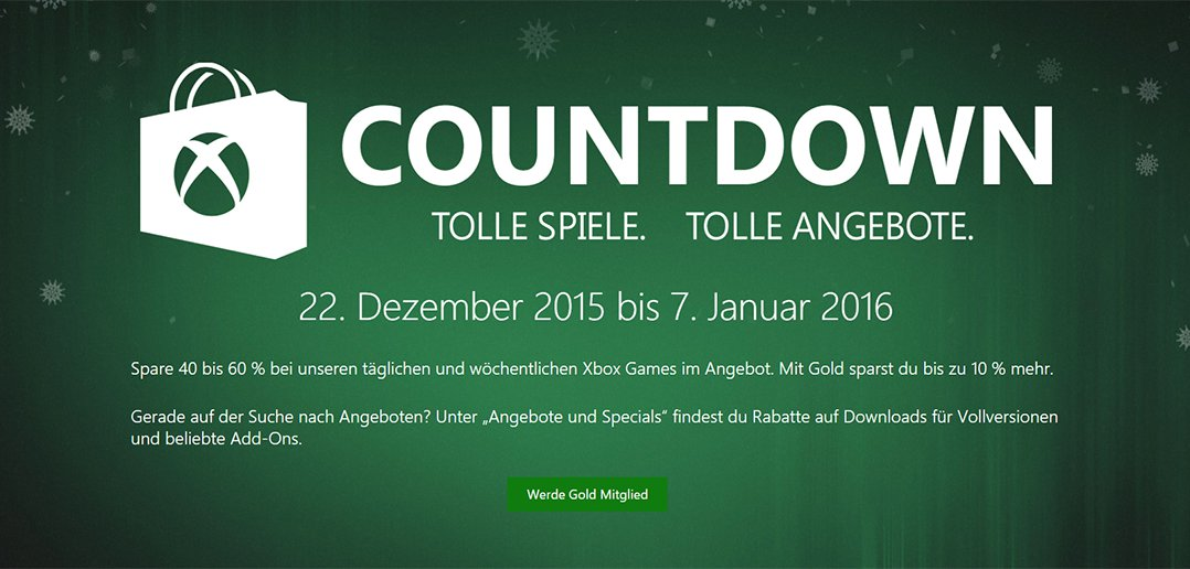 Xbox Store Sale 2015