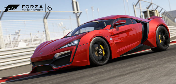 Forza 6 - 2016 W Motors Lykan HyperSport