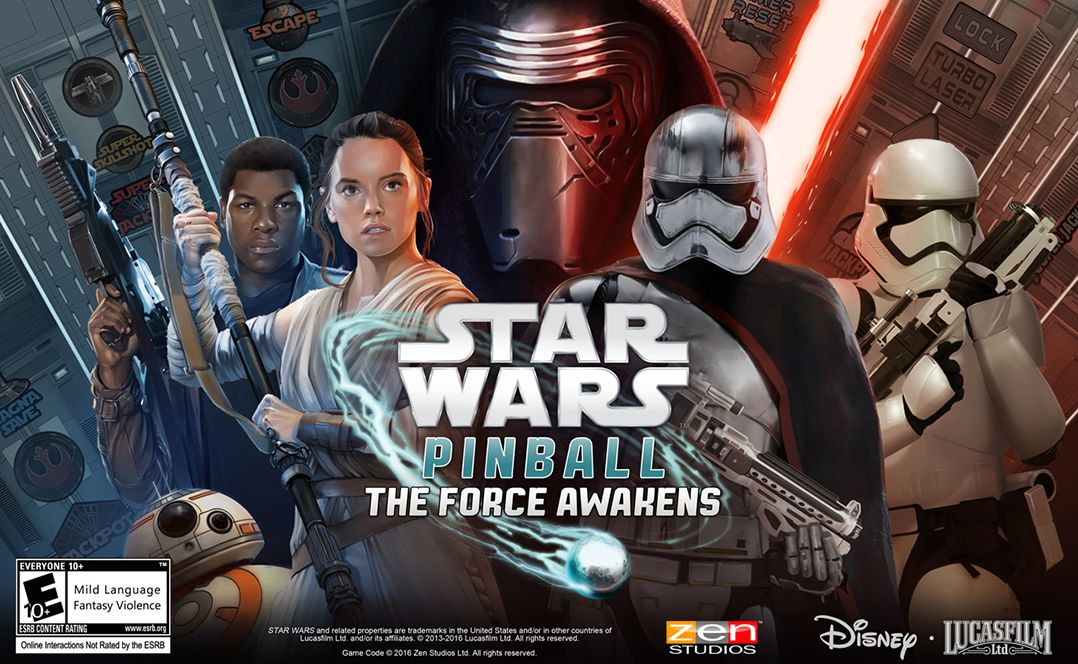 Pinball FX2: Star Wars™ Pinball: The Force Awakens™ Pack