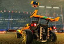 Rocket League - Sunset Overdrive