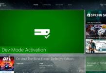 Xbox One Dev Mode