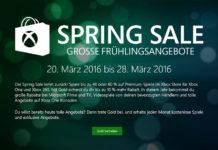 Spring Sale für Xbox One und Xbox 360