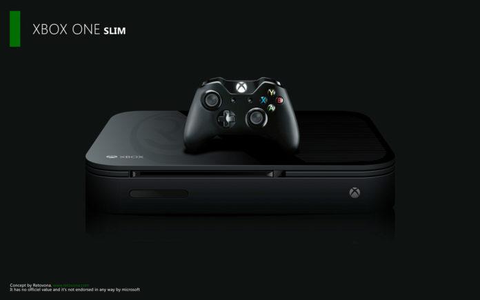Xbox One Slim - Mock Up