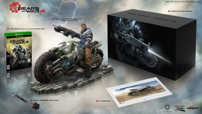 Gears of War 4 Collectors Edition