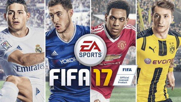 FIFA 17 Cover Art