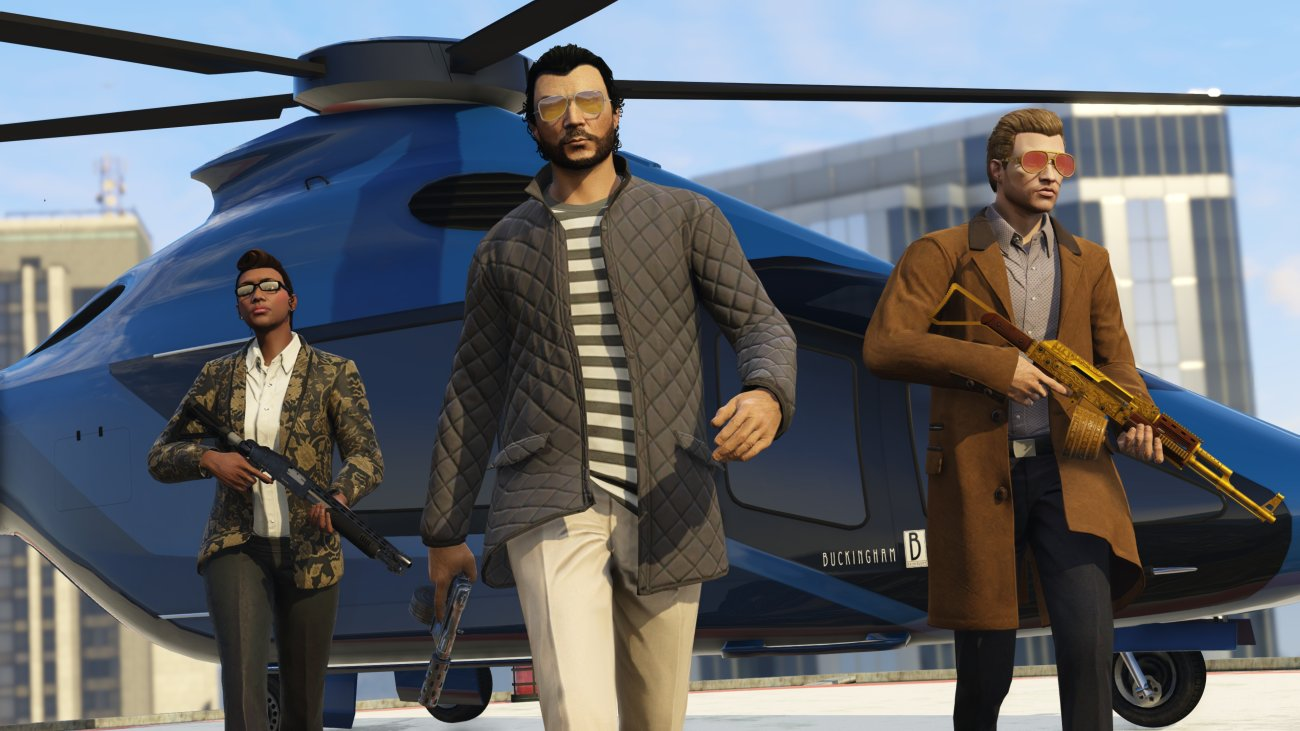 GTA Online - Further Adventures in Finance and Felony