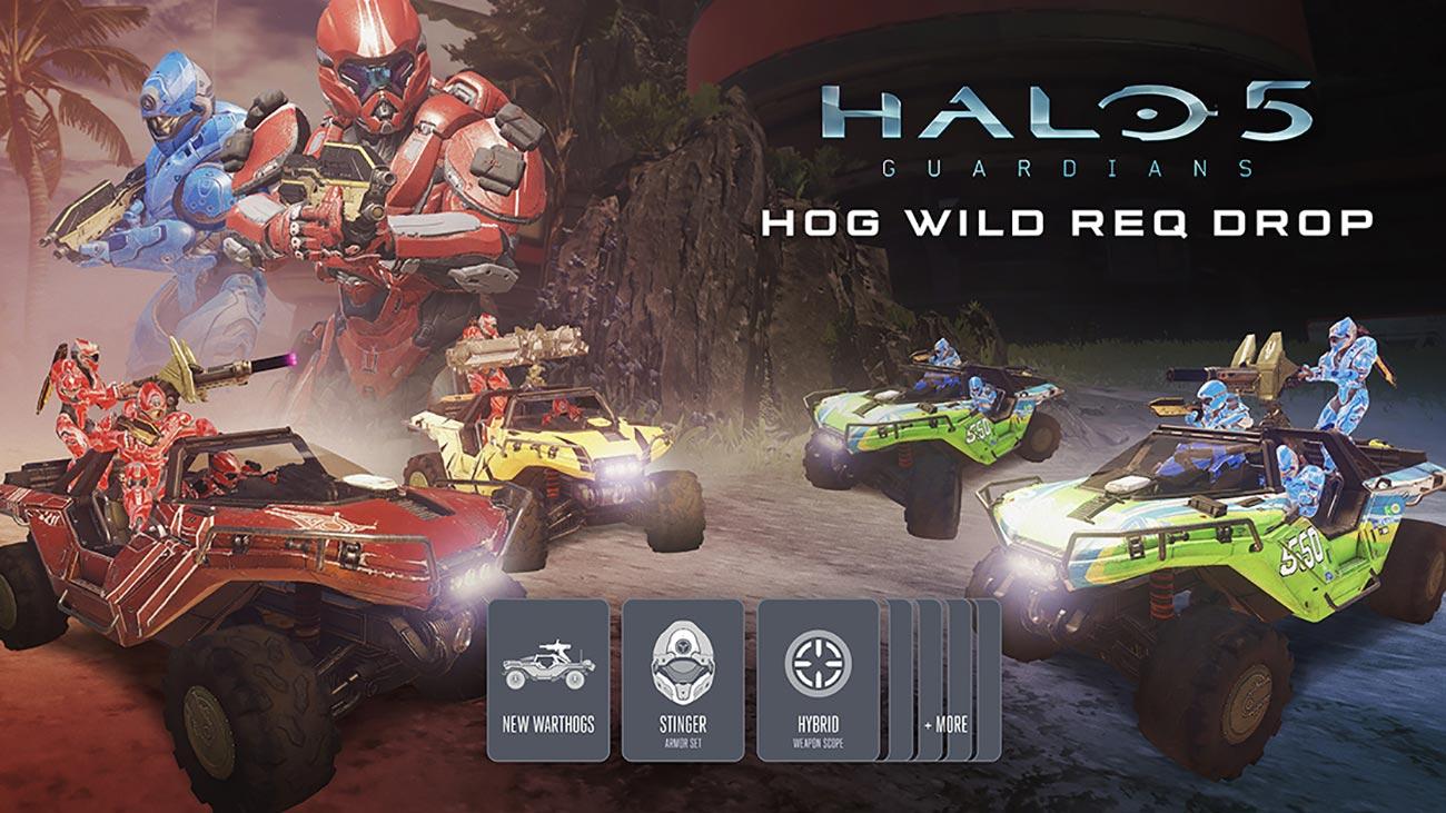 Halo 5: Guardians – Hog Wild REQ Drop