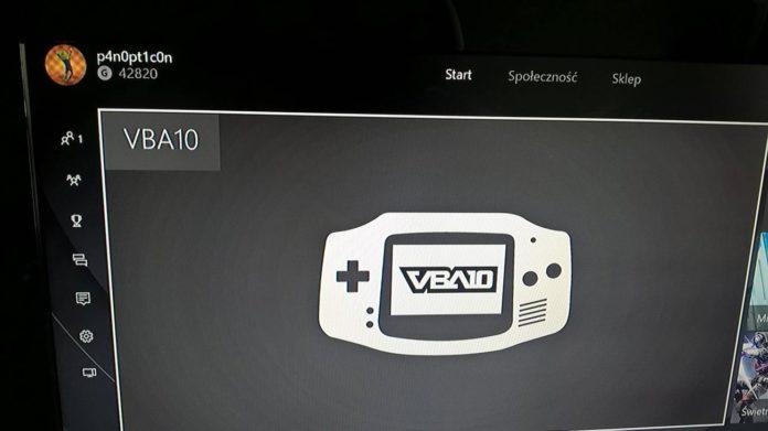 VBA10 Emulator auf Xbox One
