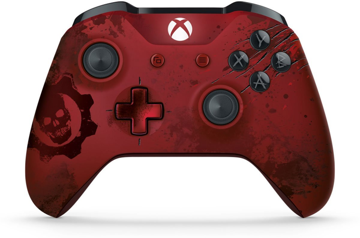 Gears of War 4 Controller - Crimson Omen