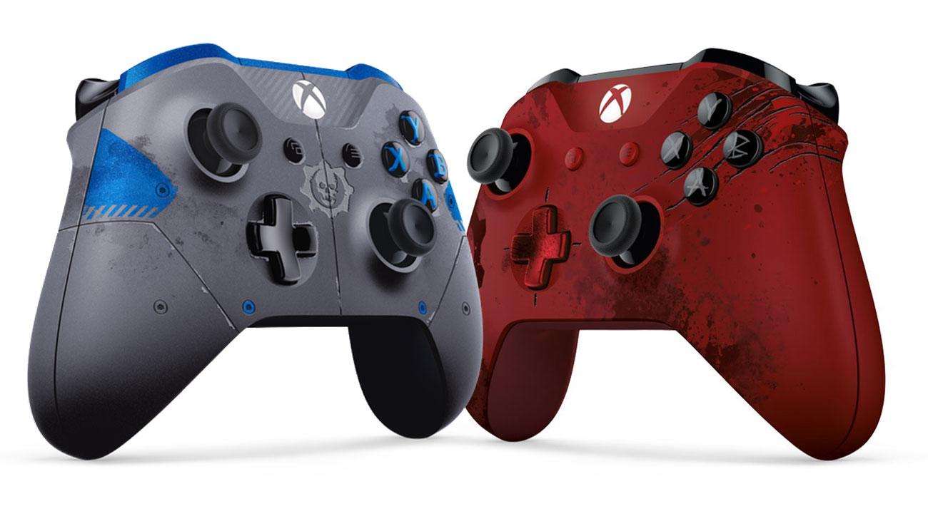Zwei exklusive Gears of War 4 Controller