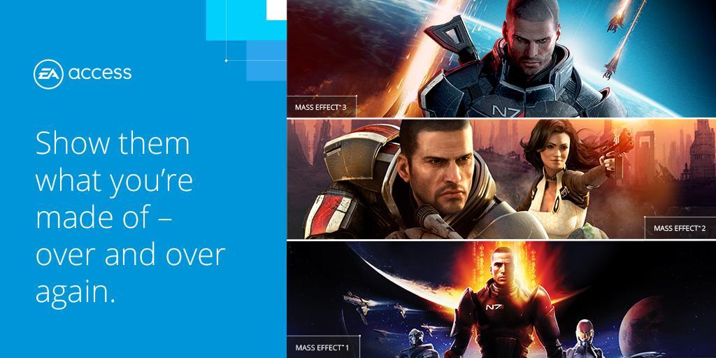 Spielt Mass Effect 1-3 jetzt kostenlos, Dank EA Access auf Xbox One