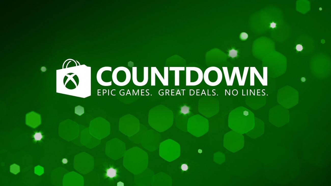 Xbox Store Countdown Sale 2016