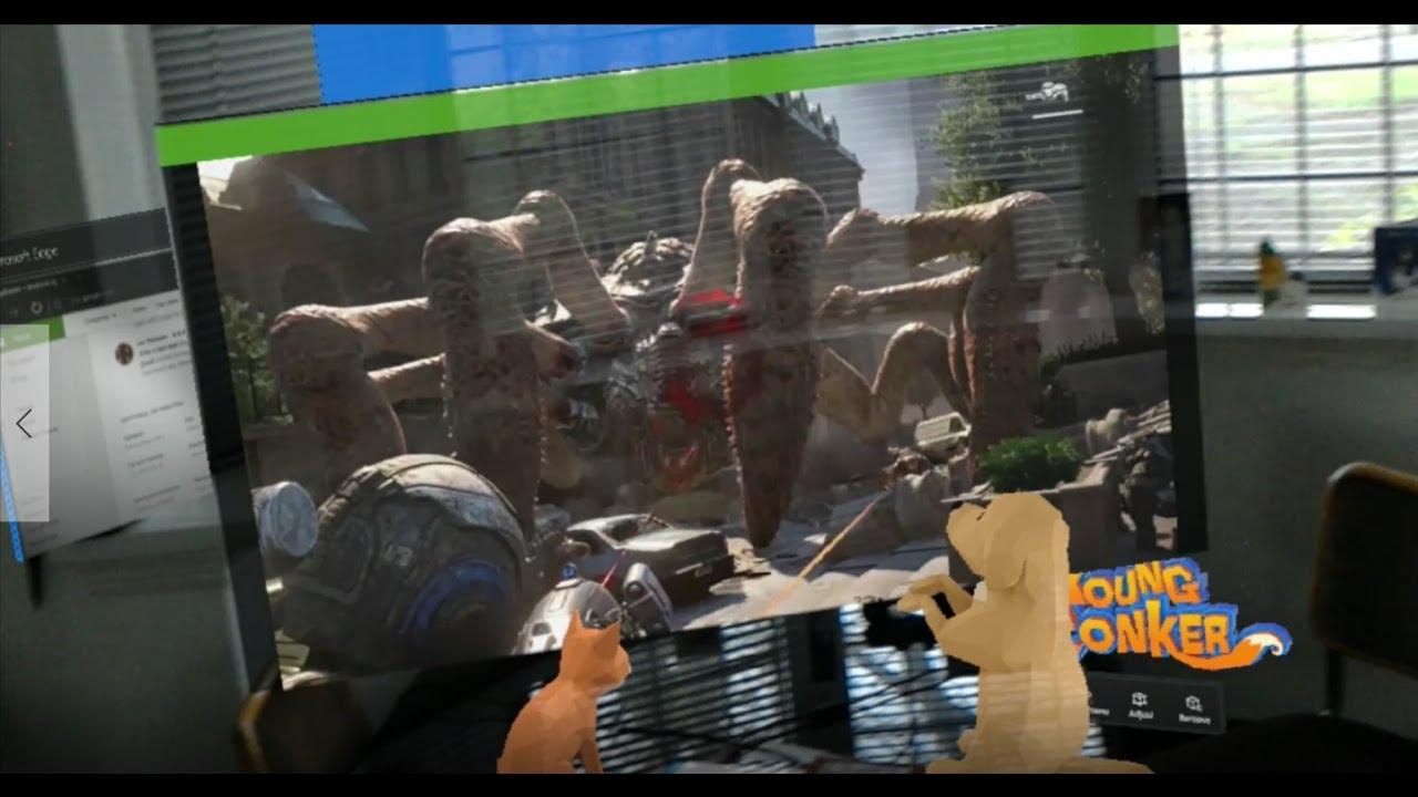 HoloLens: Gears of War 4