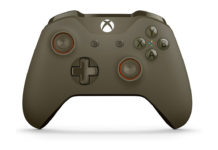 Xbox One Wireless Controller in Green/Orange
