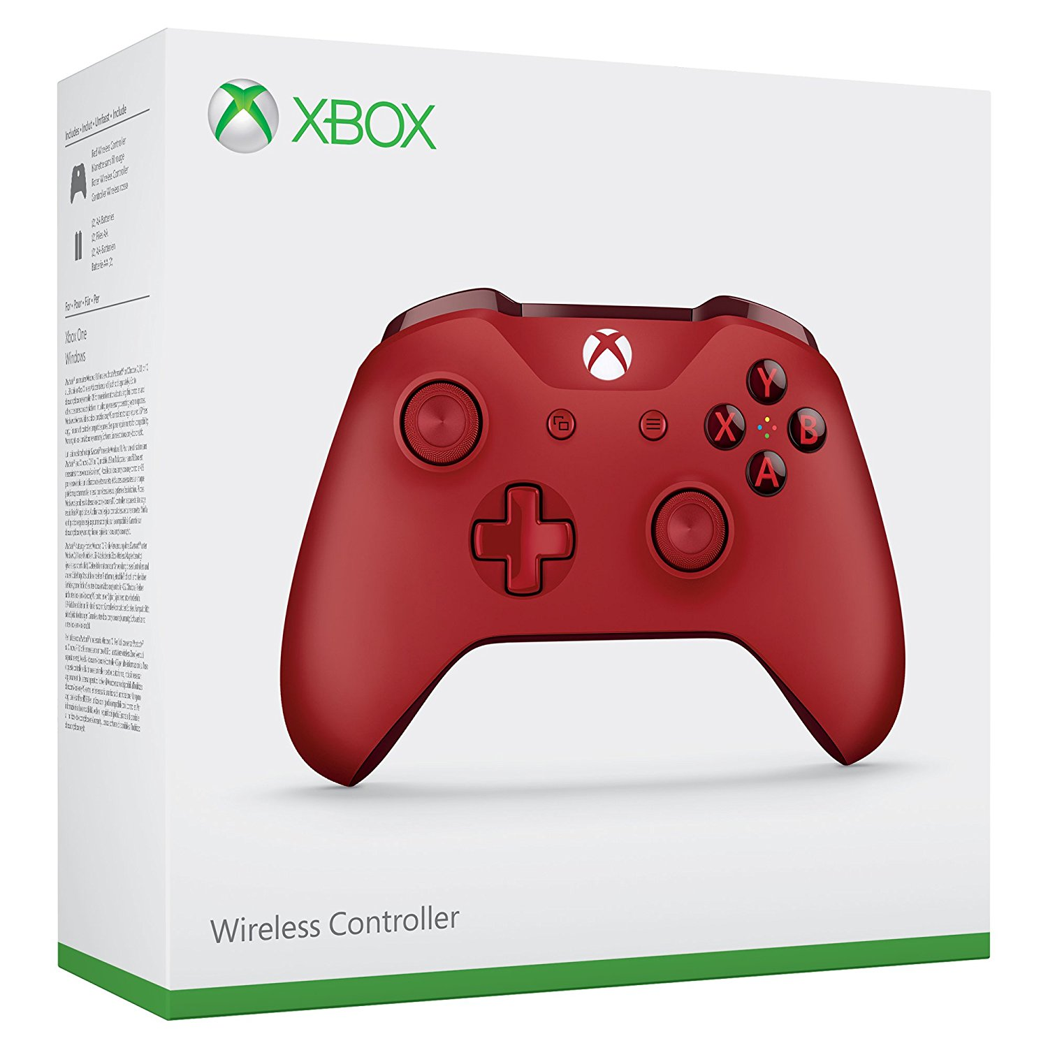 Xbox One Controller in rot