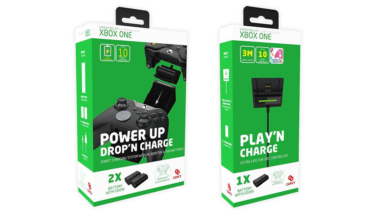 xbox one ladestation und play 39 n charge set von capcy im test. Black Bedroom Furniture Sets. Home Design Ideas