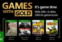 Games with Gold - März 2017