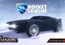 Rocket League: The Fate of the Furious DLC