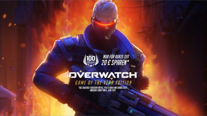 overwatch game of the year edition ist da trailer. Black Bedroom Furniture Sets. Home Design Ideas