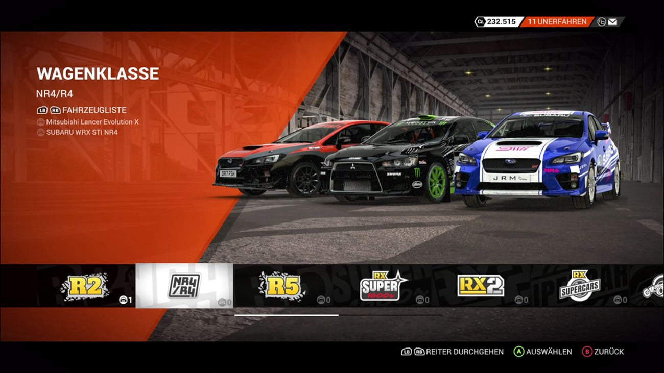 dirt 4 im test f r die xbox one. Black Bedroom Furniture Sets. Home Design Ideas