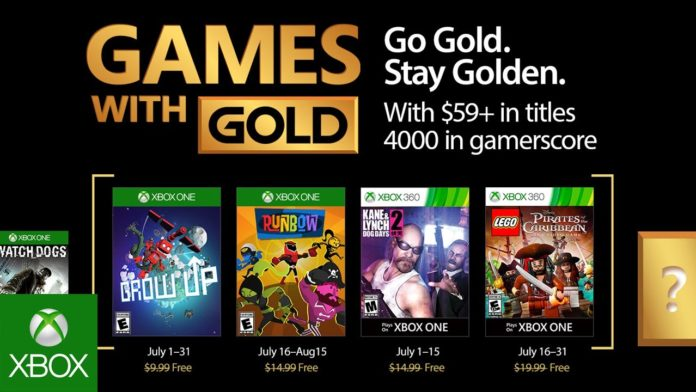 Games with Gold - Juli 2017