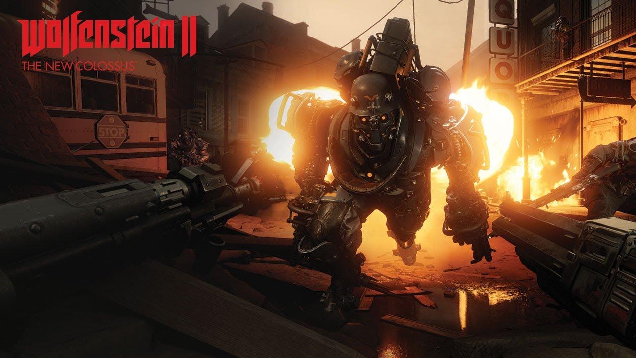 """Wolfenstein II: The New Colossus - Trailer """"Im Kampf für die Freiheit"""""""