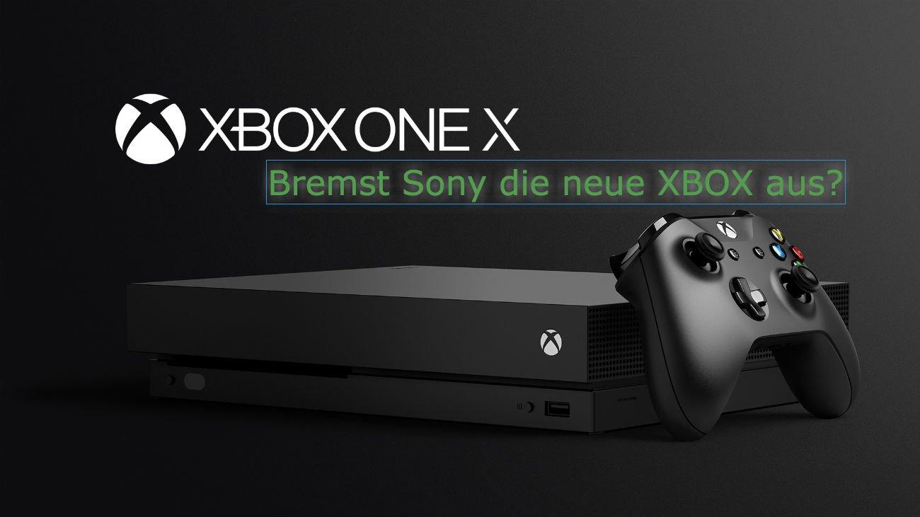Xbox One X - Sony