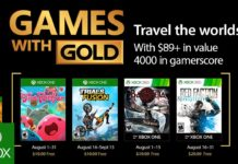 Games with Gold - August 2017
