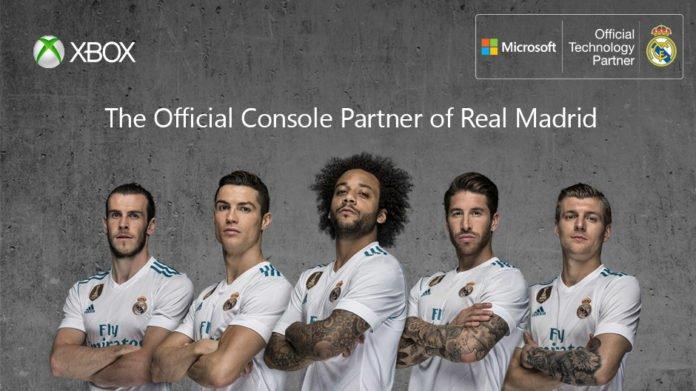 Xbox Real Madrid Partner