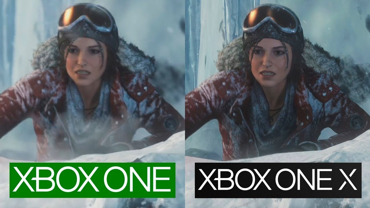 rise of the tomb raider xbox one und xbox one x version. Black Bedroom Furniture Sets. Home Design Ideas