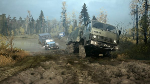 Spintires: MudRacers